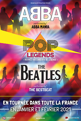 POP LEGENDS - ABBA & THE BEATLES