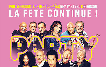 PARTY 80 - LA FETE CONTINUE